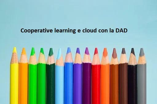 63450 Cooperative learning e cloud con la DAD nella scuola primaria