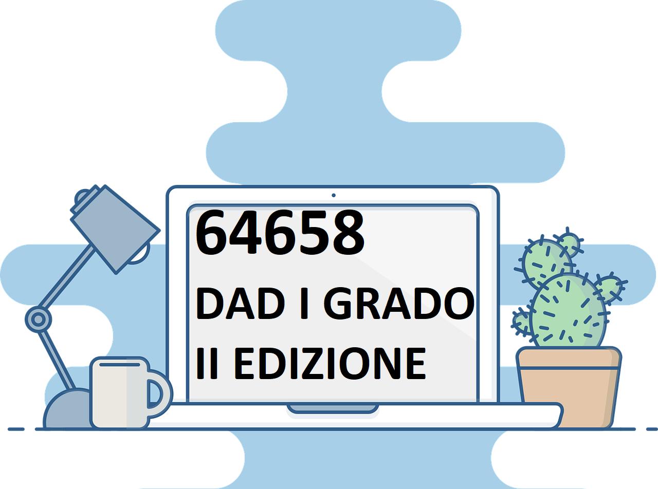 ID 64658 Progettare e realizzare la didattica a distanza nella scuola secondaria di I grado- II EDIZIONE