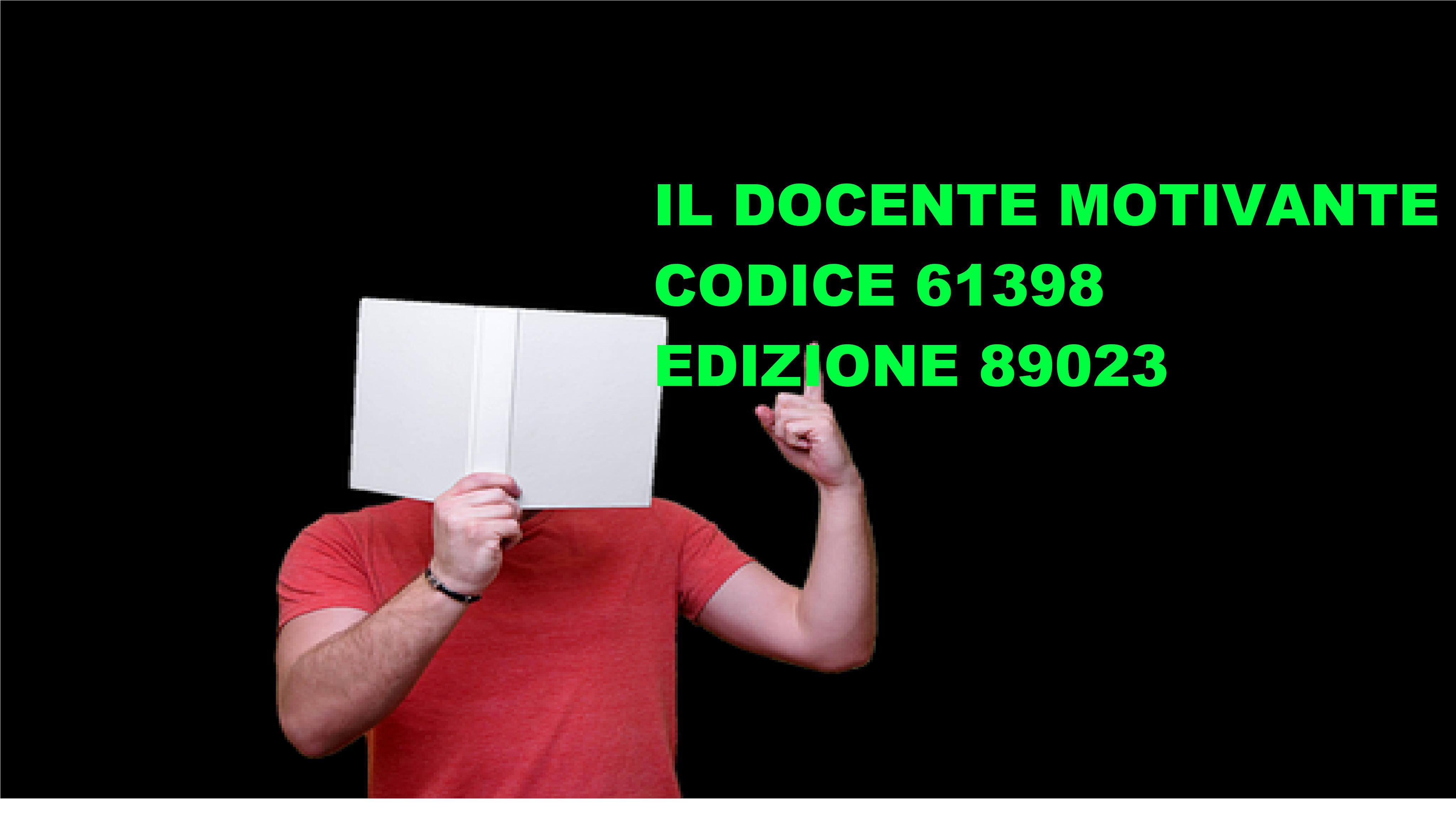 89023 IL DOCENTE MOTIVANTE