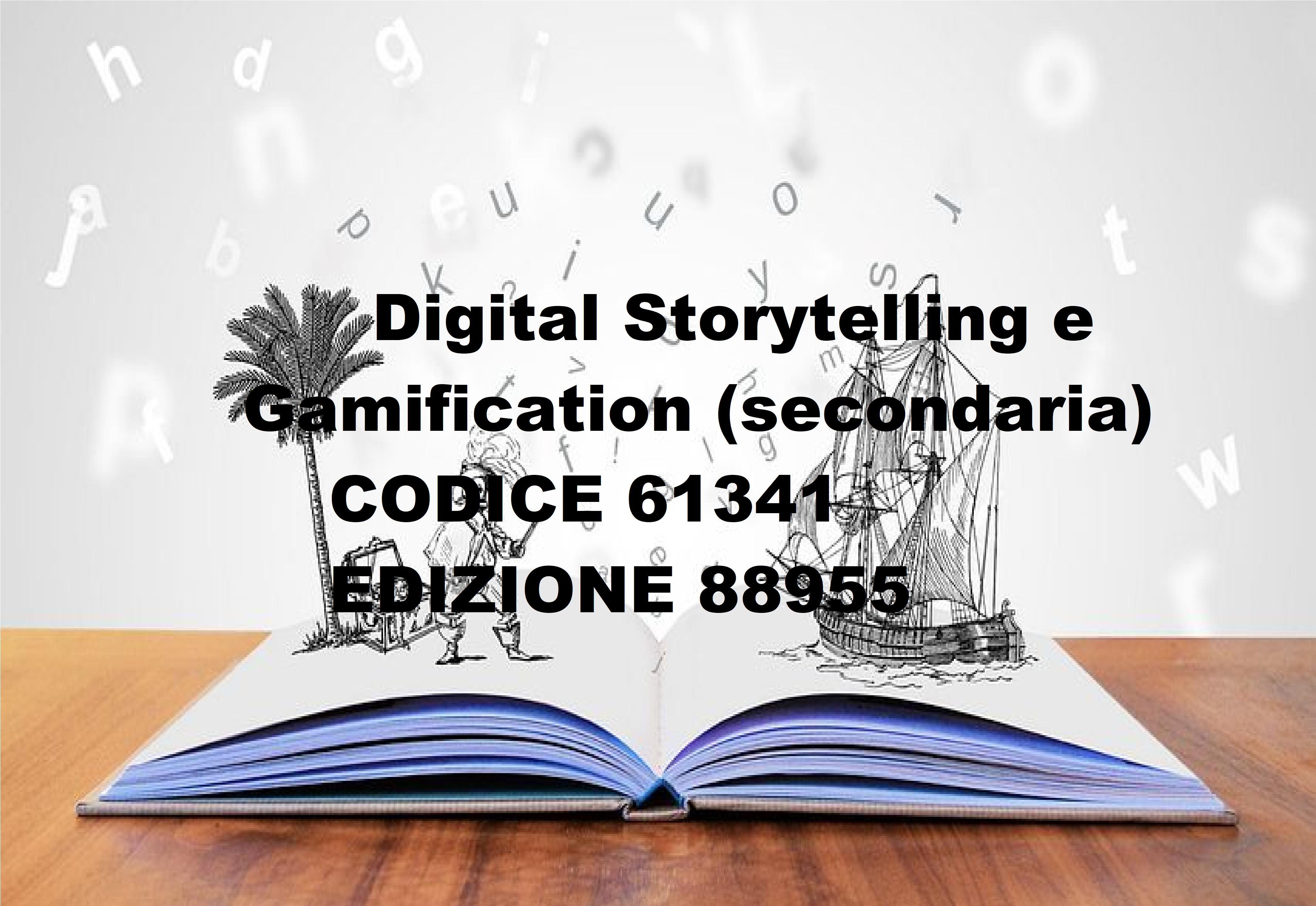 88955 Digital Storytelling e Gamification (secondaria)